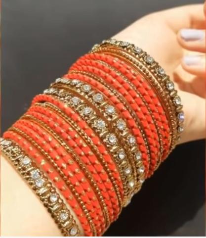 Party wear metal bangle