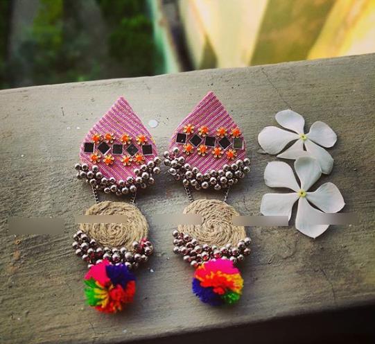Trendy earring design