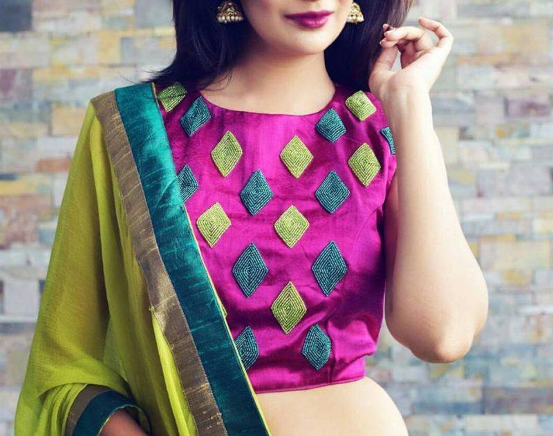 Stylish blouse design