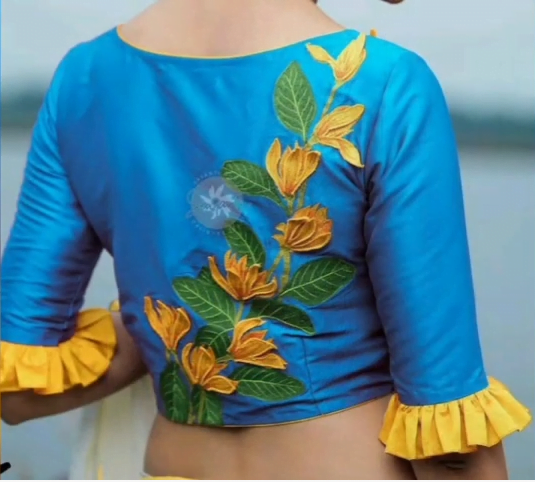 Blouse Sleeves Design New Pattern