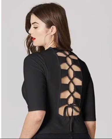 Kurti back neck design