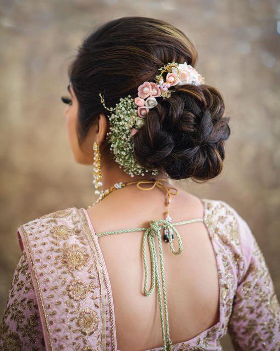 Elegant Bridal Bun Hairstyles Ideas