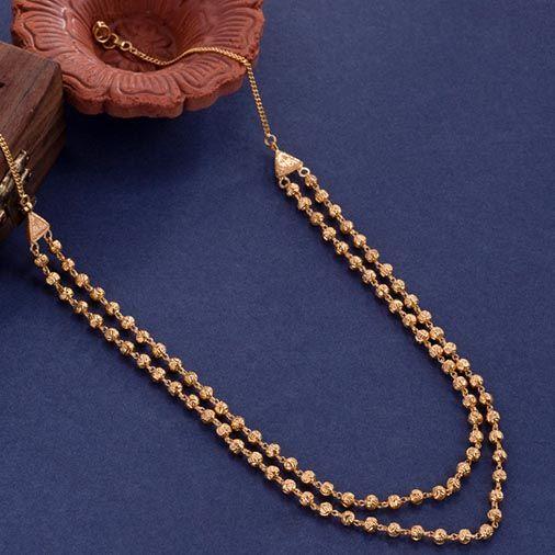 Gold Short Necklace